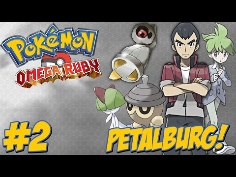 Pokémon Omega Ruby #2 - Primeiro Shiny / Wally e Norman / Trade / A Caminho de Petalburg City!!