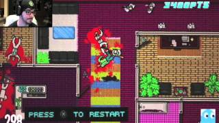 Hotline Miami VHS Edition - Ray Narvaez Jr A.K.A Brownman: Hotline Miami 2 in 473 deaths