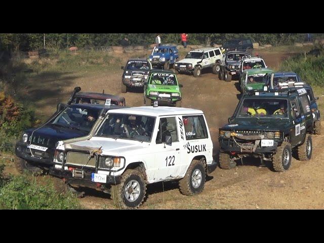 4x4 SUVs in Off-Road race