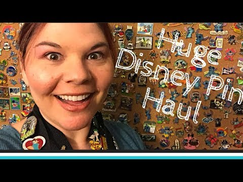 Disney Pin trading event at My D Pins in Anaheim California