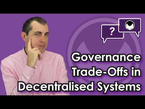 Ethereum Q&A: Governance trade-offs in decentralised systems