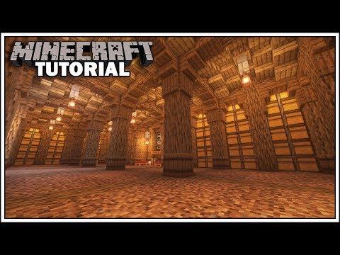 minecraft-underground-storage-room-tutorial-[how-to-build]