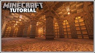 Minecraft Underground Storage Room Tutorial [How to Build]