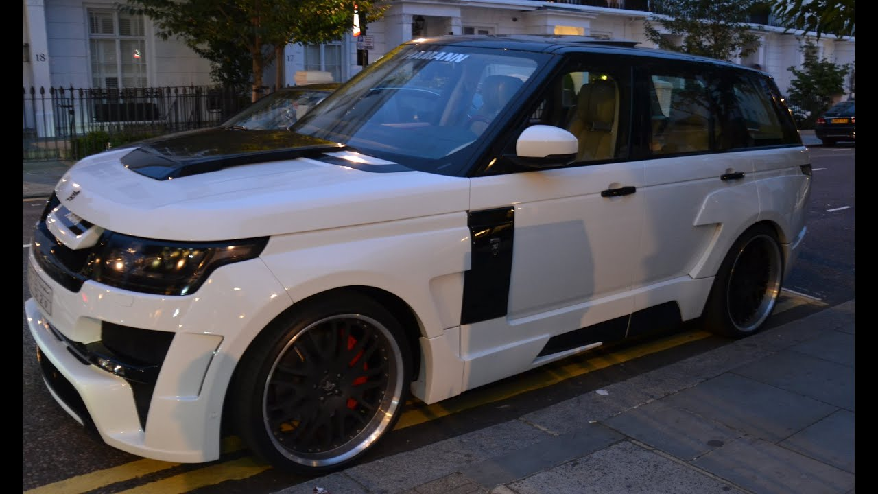 Range Rover Hamann Mystere Walkaround and Loud Acceleration