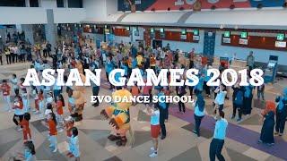 PALEMBANG FLASHMOB ASIAN GAMES 2018 Bandara Sultan Mahmud Badaruddin II