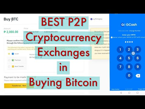Best p2p cryptocurrency exchange in buying bitcoin