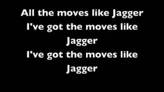 Moves Like Jagger Lyrics -Maroon 5