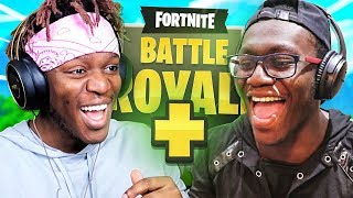 KSI AND DEJI DO DUOS ON FORTNITE