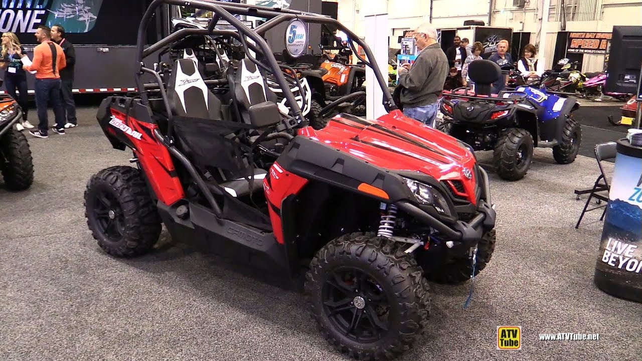 2018 cfmoto z force 500 trail walkaround 2017 toronto. Black Bedroom Furniture Sets. Home Design Ideas