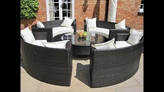 circular patio furniture youtube
