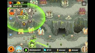 Kingdom Rush Frontiers - Heroic Challenge The Dark Descent - Level  14