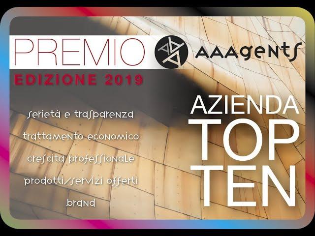 """""""Premio AAAgents"""" 2019   𝐀𝐳𝐢𝐞𝐧𝐝𝐚 𝐓𝐎𝐏𝟏𝟎: 𝐕𝐞𝐫𝐨 𝐒𝐫𝐥"""