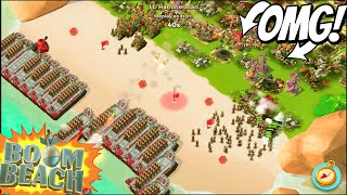 Boom Beach HARDEST HAMMERMAN ATTACKS YOU EVER!? (New 7 Stages)+Stage Seven Gameplay