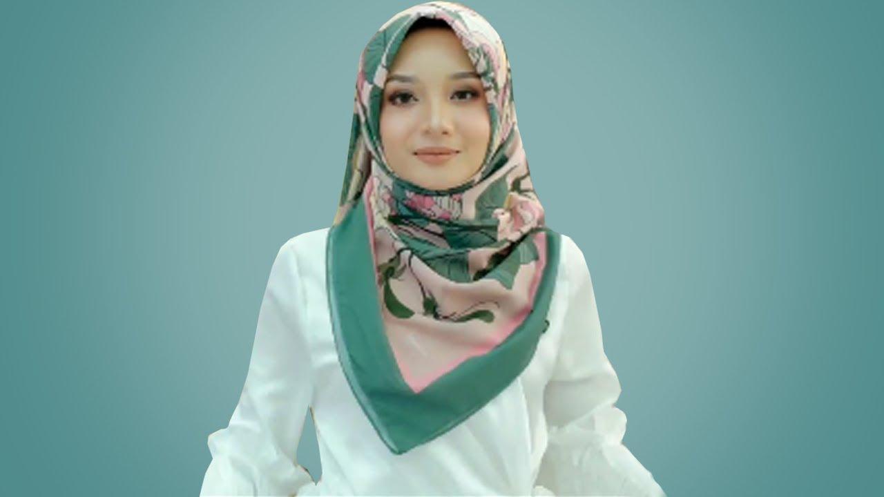 10 Cara Sederhana Memakai Hijab Segi Empat Simple Mudah Cantik Kekinian Simple No Ribet Ribet Youtube