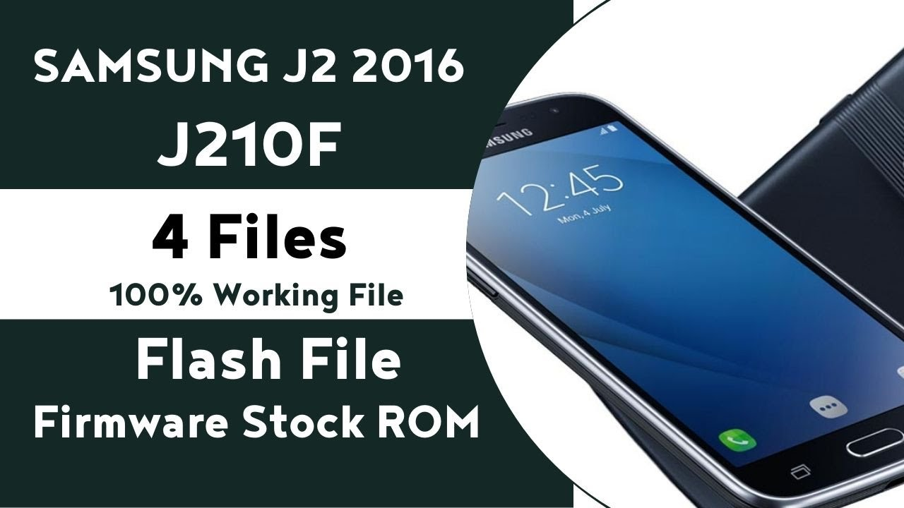 Samsung j210f how to flash 4 file marshmallow 2017