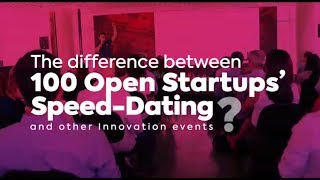 Speed-Dating Experience |  100 Open Startups