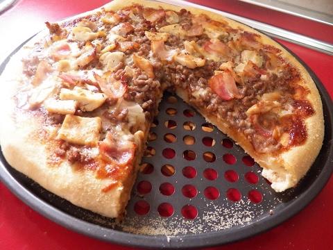 Receta pizza a la barbacoa