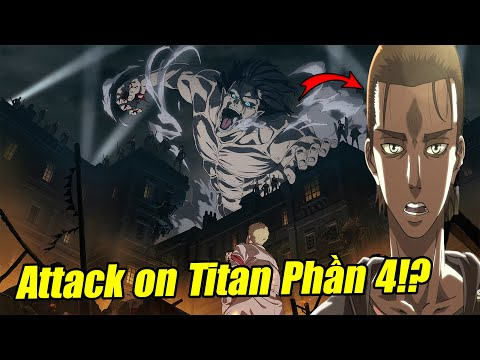 Cuộc Chiến Giữa Eren Và Titan Chiến Chùy - Trailer Attack On Titan Season 4 -  Studio Mới
