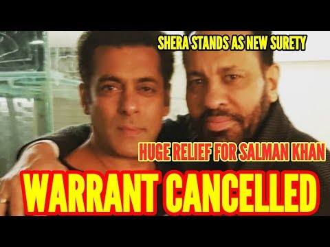 Huge relief for SALMAN KHAN IN 2002 HIT AND RUN CASE GETS BAILABLE WARRANT AGAINST HIM CANCELLED