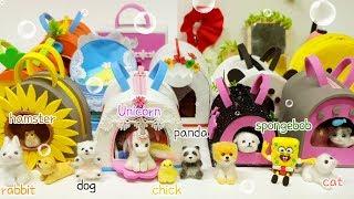 12 Miniature animal set collection !!   지금까지 만든 미니어쳐 동물을 모아보자!!