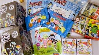 Blind Bag Palooza Part 1 MLP Unicornos Marvel TokiDoki Adventure Time