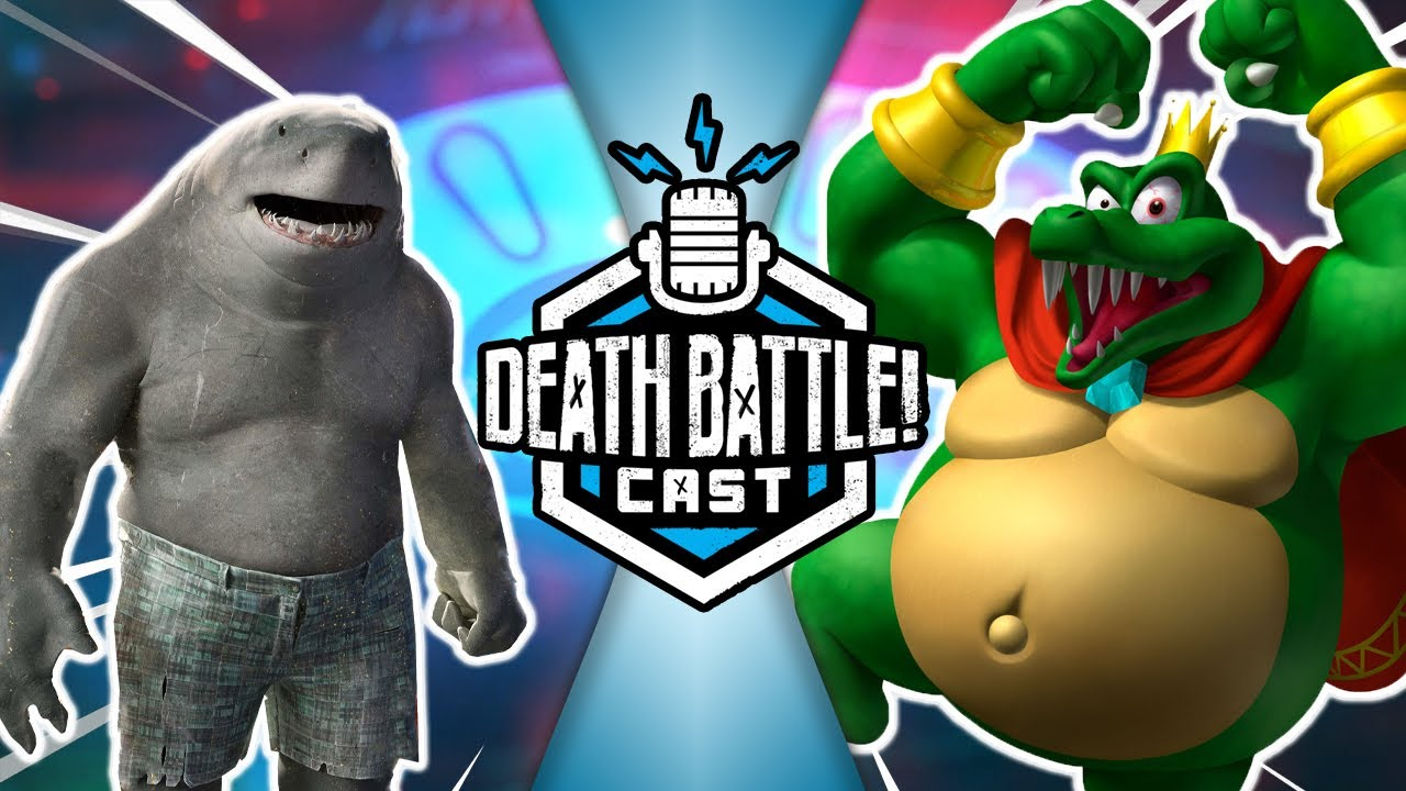 King Shark VS King K Rool | DEATH BATTLE Cast #238
