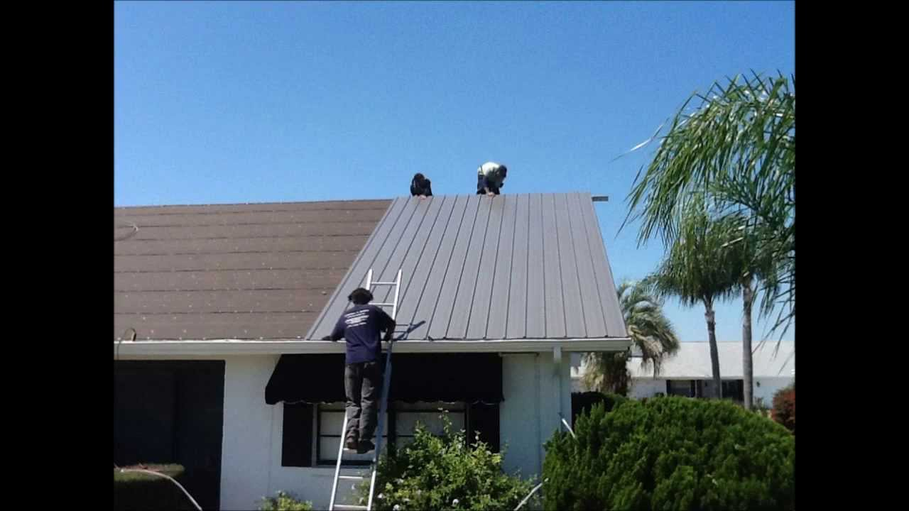 Metal Roofing Tampa By Restoring Florida Homes