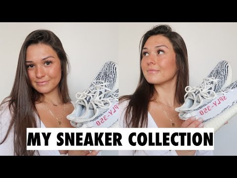 MY SNEAKER COLLECTION 2018 | Maggie MacDonald