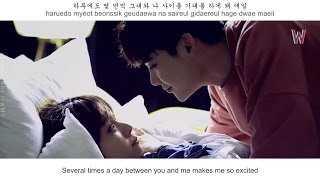 Ahn Hyeon Jeong - You and Me FMV (W - Two Worlds OST Part 7) [Eng Sub + Rom + Han]