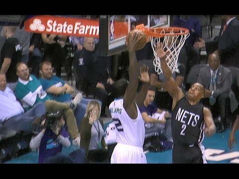 Marvin Williams Finishes with Power in Charlotte l 02.07.17
