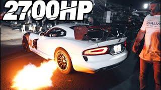 2700HP Turbo Vipers BEAT EVERYONE! - NEW RWD KING (2200+HP AWD VS RWD Battle)