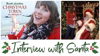 An Interview with Santa // Christmas Town 2017