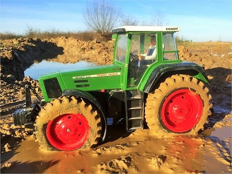 RC TRACTOR MUD ACTION! :) unsuccessful movie recording / my new playlist RC TRACTOR