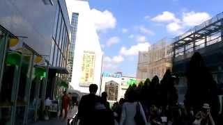2017 東京自由行 - 新宿小田急南悅酒店Century Southern Tower 步行至JR新宿站南口