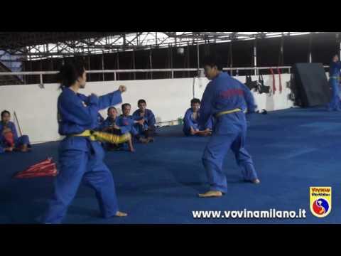 Vovinam Training Tư Vệ Nữ Giới - VIỆT NAM