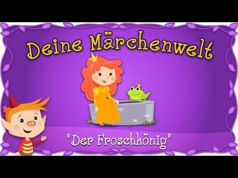 Der Froschkönig (Der eiserne Heinrich) - Märchen für Kinder   Brüder Grimm   Deine Märchenwelt