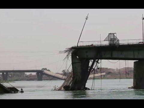 خطر الإنهيار يهدد جسرا حيويا في الموصل  - نشر قبل 2 ساعة