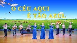 """Coro feminino """"O céu aqui é tão azul"""" Melhor música gospel (Legenda em português)"""