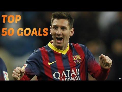 Lionel Messi ? Top 50 Goals ? 2004-2014 (HD)