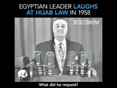 Hijab law in Egypt 1958