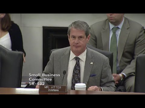 Vitter on Small Business Struggles Under NLRB