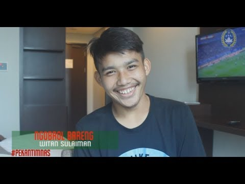 EKSKLUSIF: Ngobrol Bareng Pemain Timnas U19 - Witan Sulaiman