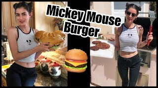 Mickey Mouse Burger!