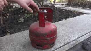 видео Газовая горелка для кровельных работ