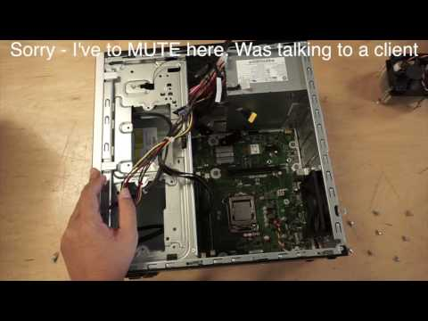 How to replace HP Pavilion 550-150 motherboard - Step By Step