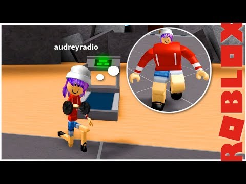 AUDREY THE NOODLE PUMPING IRON IN ROBLOX!