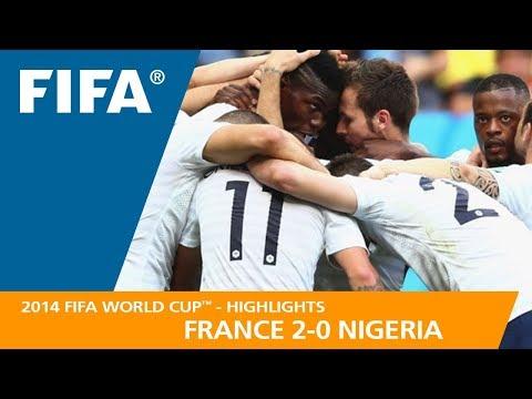 FRANCE v NIGERIA (2:0) - 2014 FIFA World Cup™
