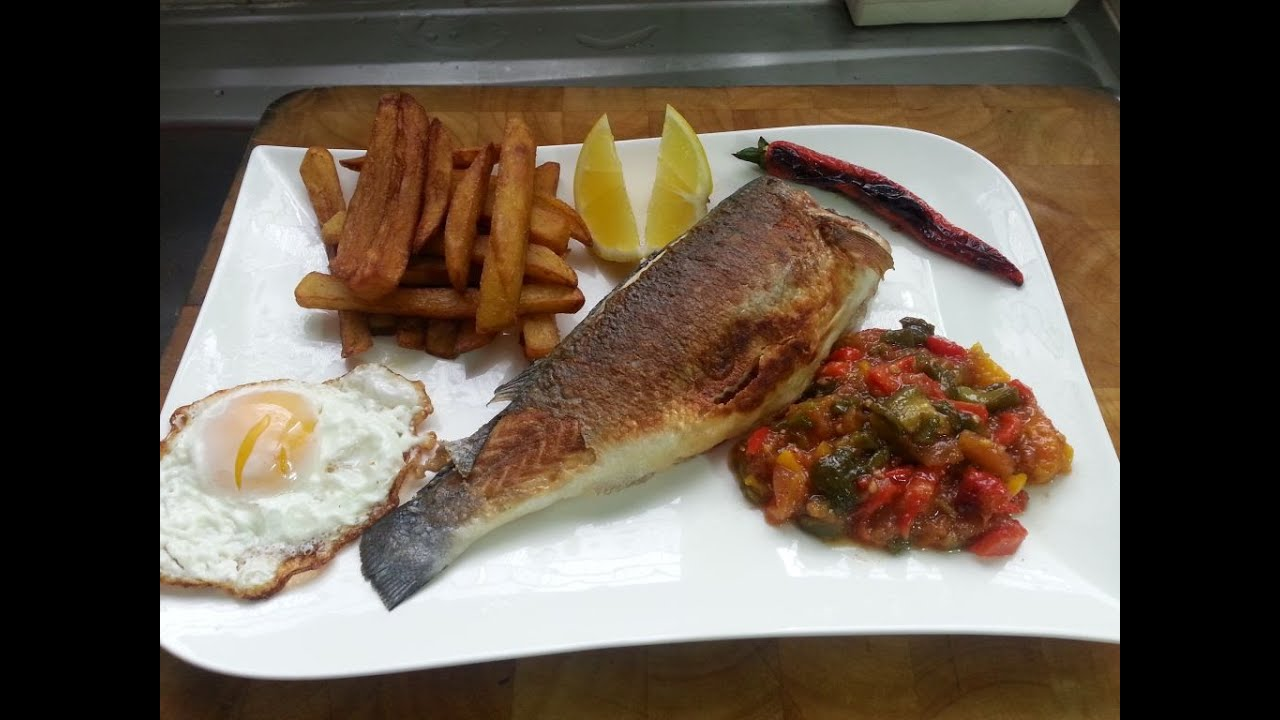 Cuisine tunisienne le complet poisson youtube for Cuisine tunisienne
