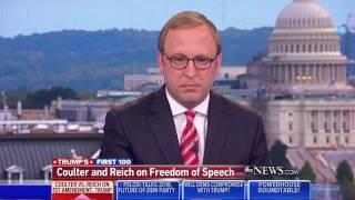 Berkeley Professor Robert Reich: First Amendment is