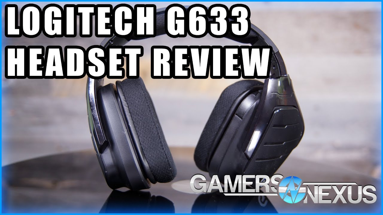 Logitech G633 Artemis Spectrum RGB Gaming Headset Review